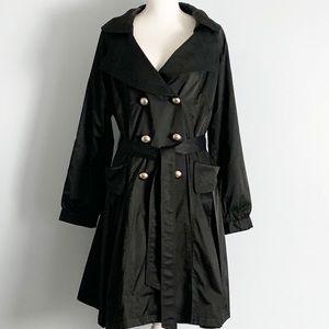 VERTIGO PARIS-Double Breasted Trench/Rain Coat